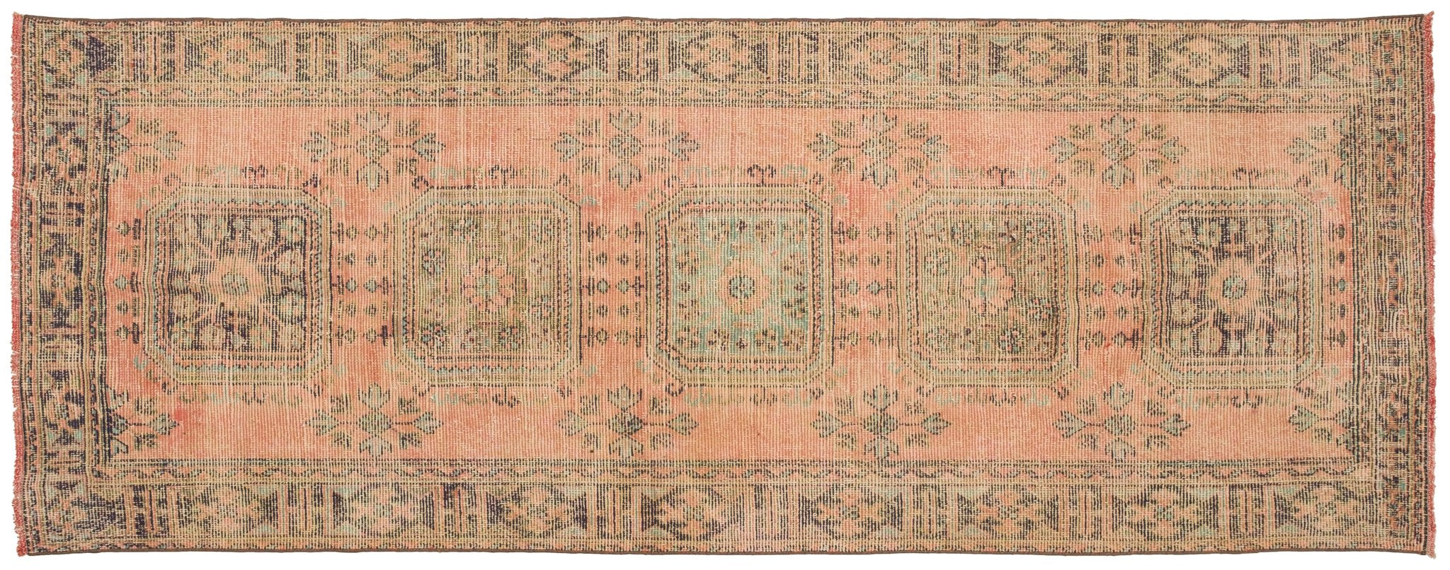 Vintage Turkish Runner Rug Gjermund