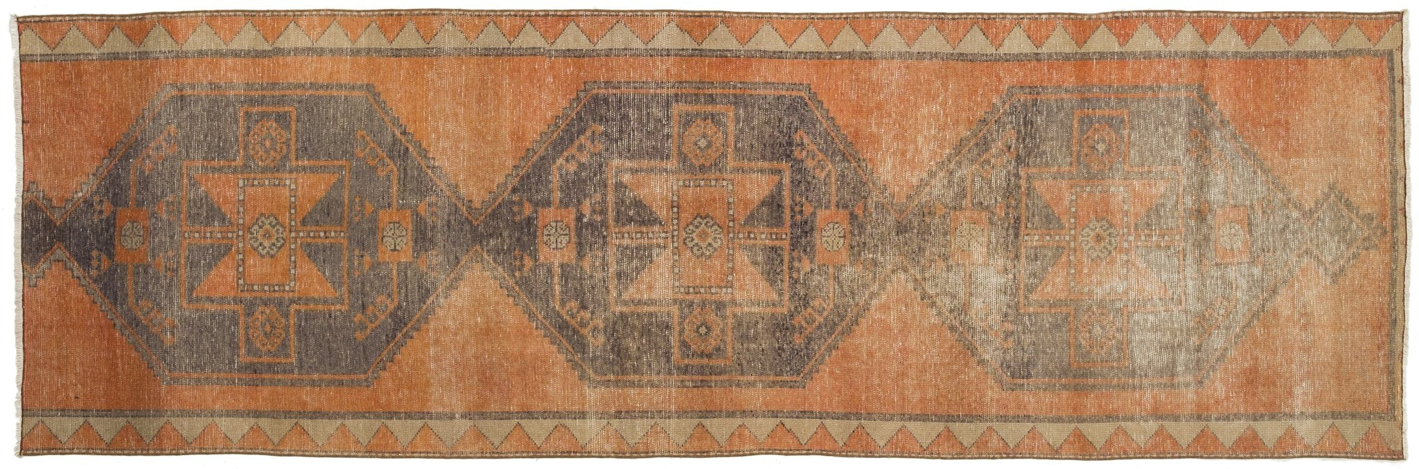 Vintage Turkish Runner Rug Tanta