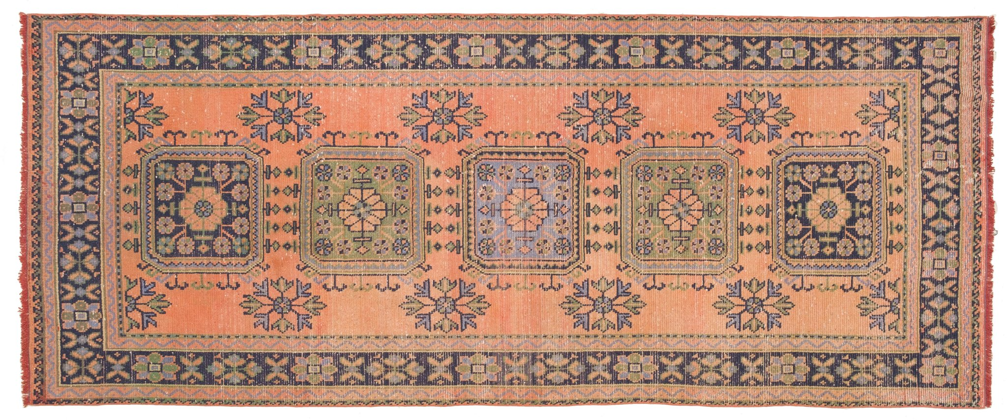 Vintage Turkish Runner Rug Fulbert