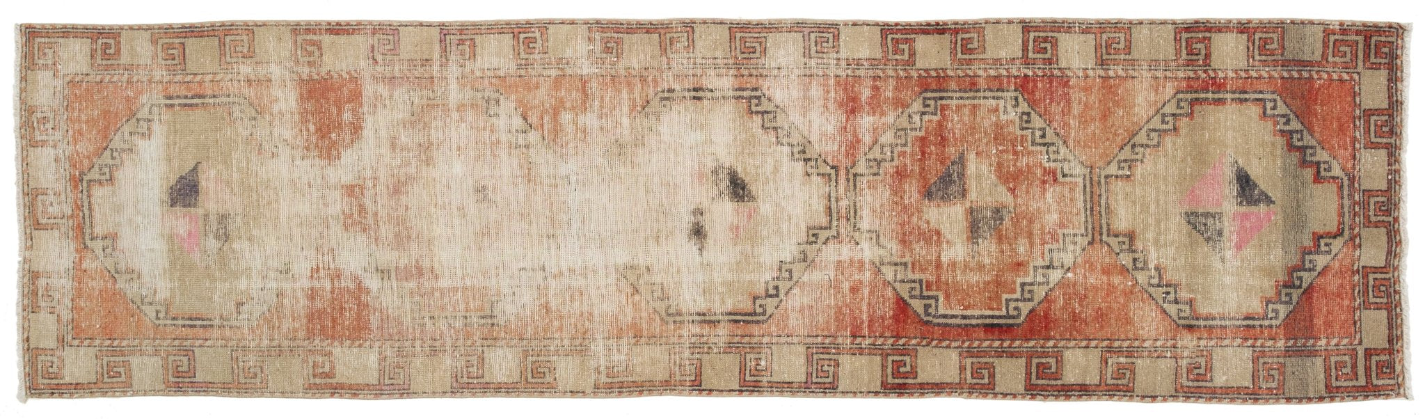 Vintage Turkish Runner Rug Dezideriu