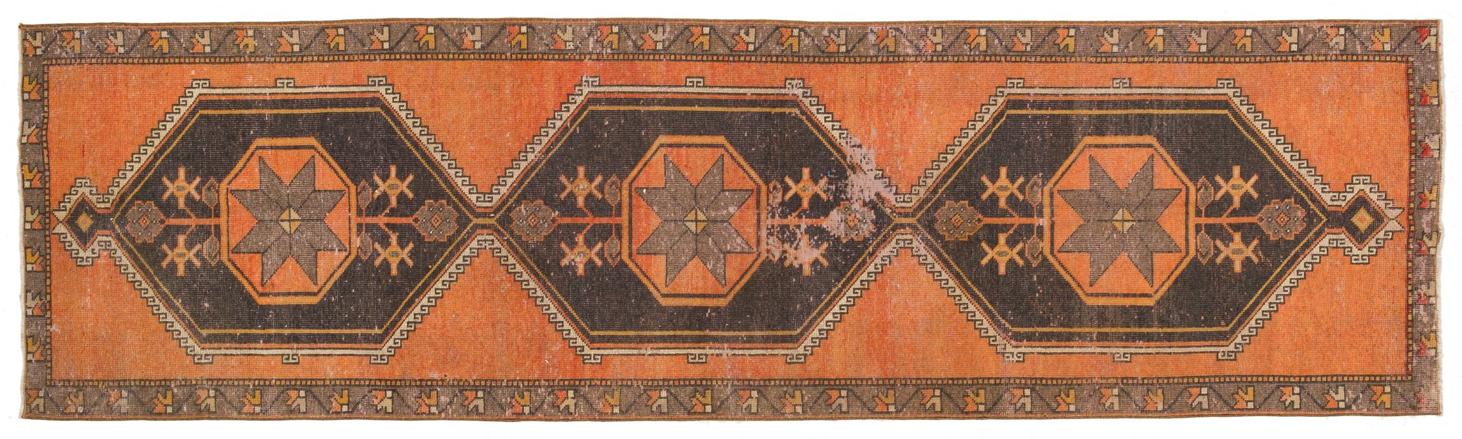 Vintage Turkish Runner Rug Aart