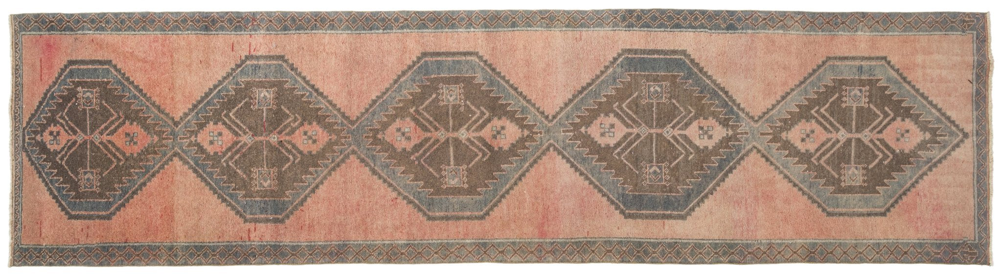 Vintage Turkish Runner Rug Bahia