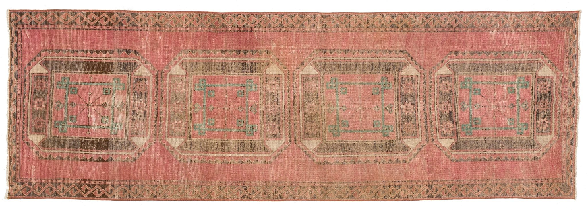 Vintage Turkish Runner Rug Alberte