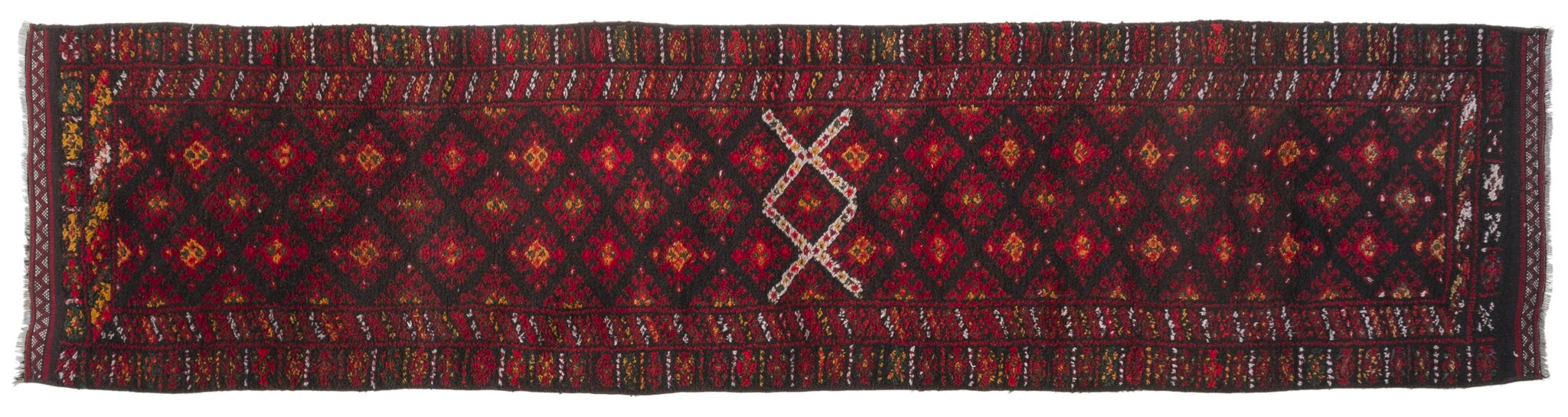 Vintage Turkish Runner Rug Aquilino