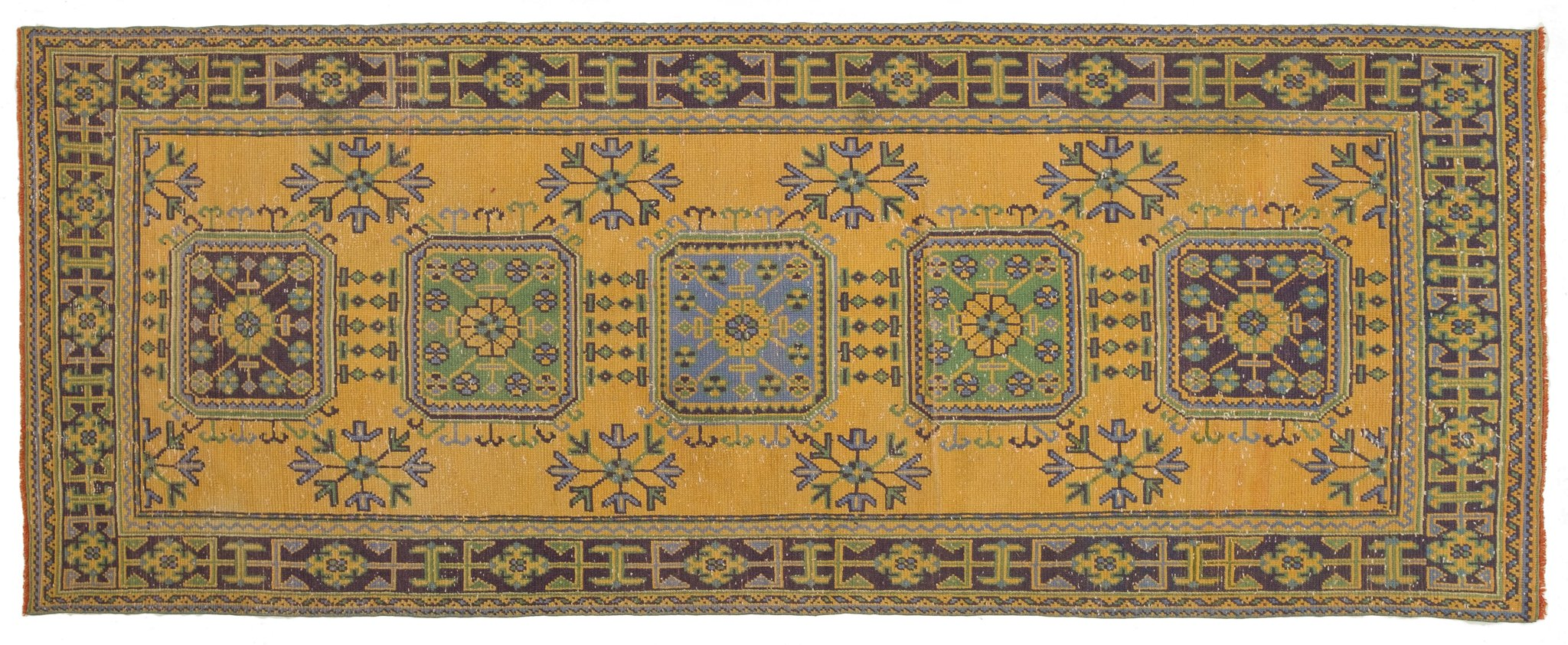Vintage Turkish Runner Rug Kristiana