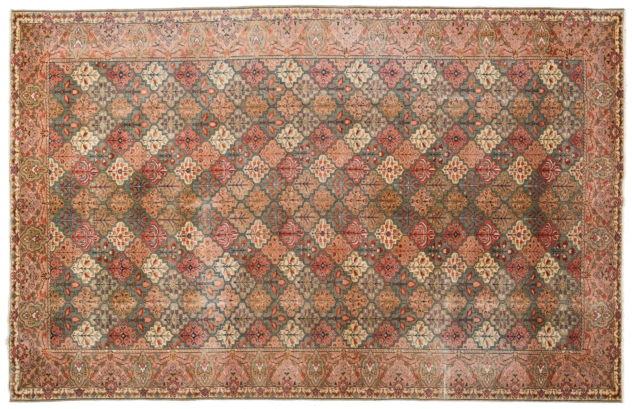 Vintage Turkish Rug Ghazi