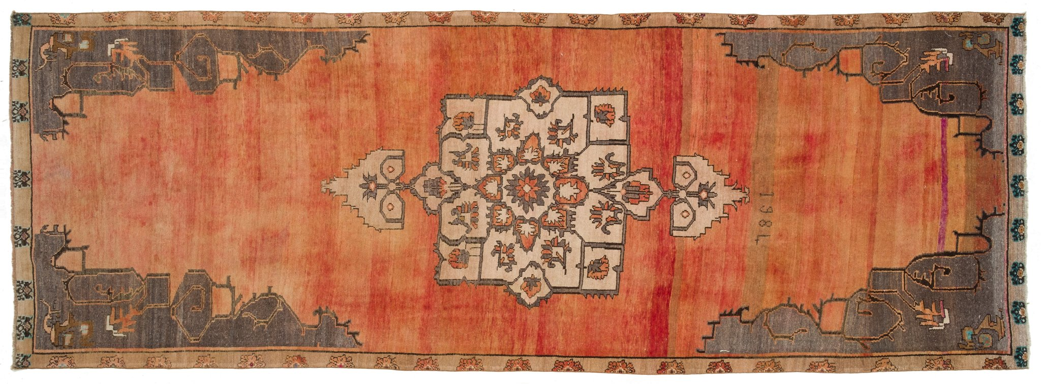 Vintage Turkish Runner Rug Petronella
