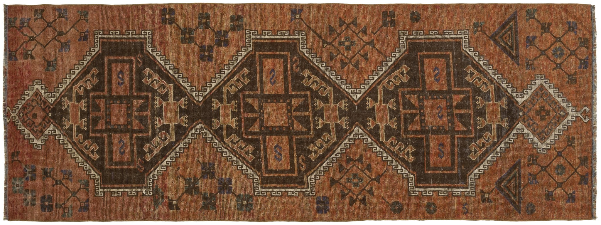 Vintage Turkish Runner Rug Adorna