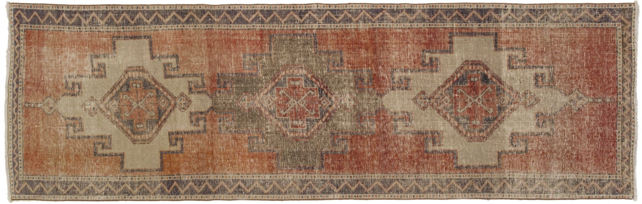 Vintage Turkish Runner Rug Armins