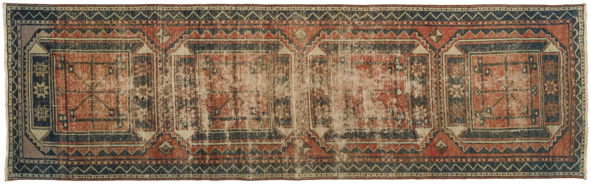 Vintage Turkish Runner Rug Indalecia