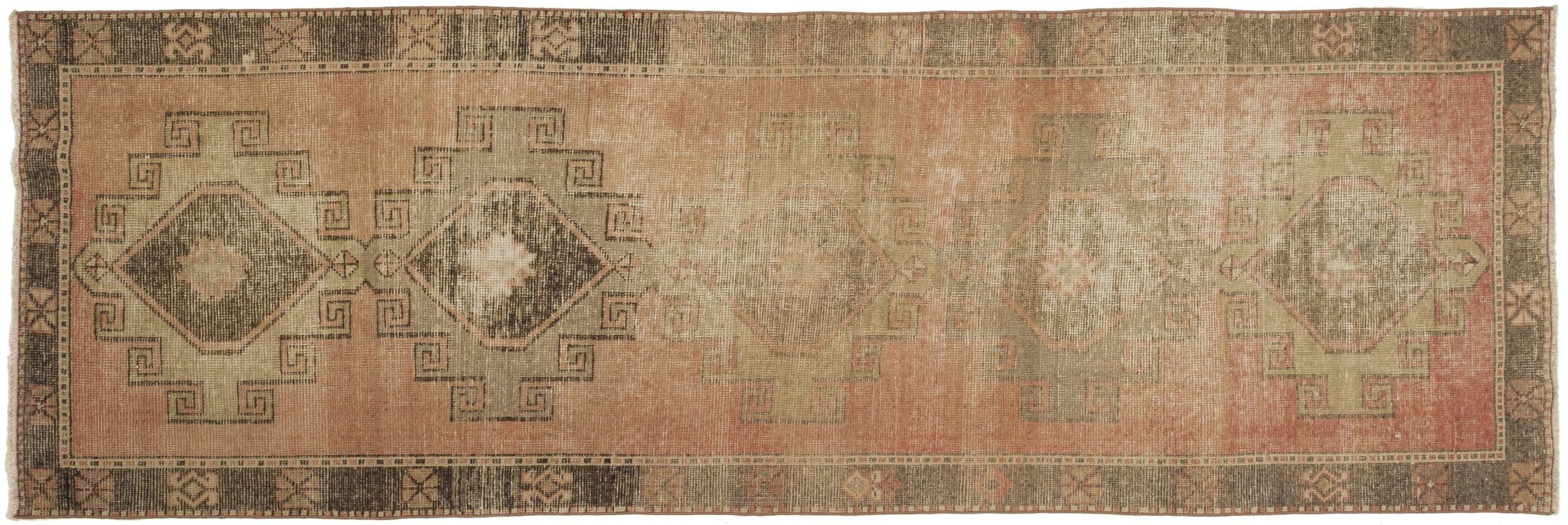 Vintage Turkish Runner Rug Appoline