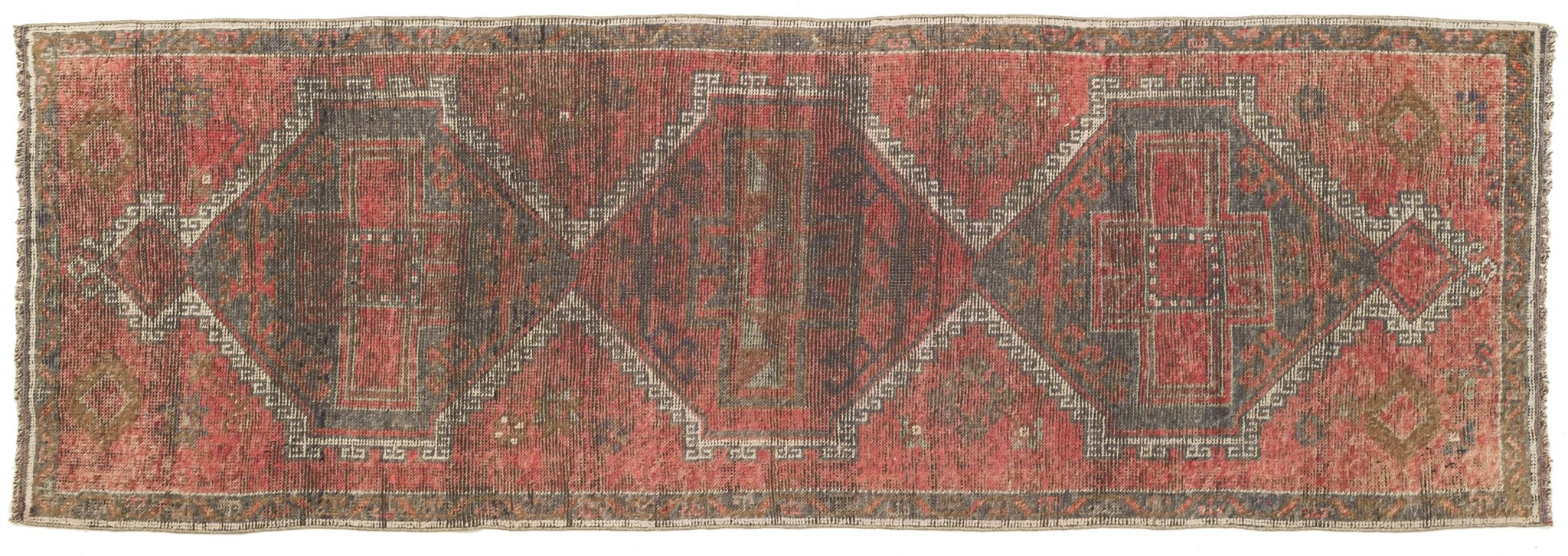 Vintage Turkish Runner Rug Eduardo