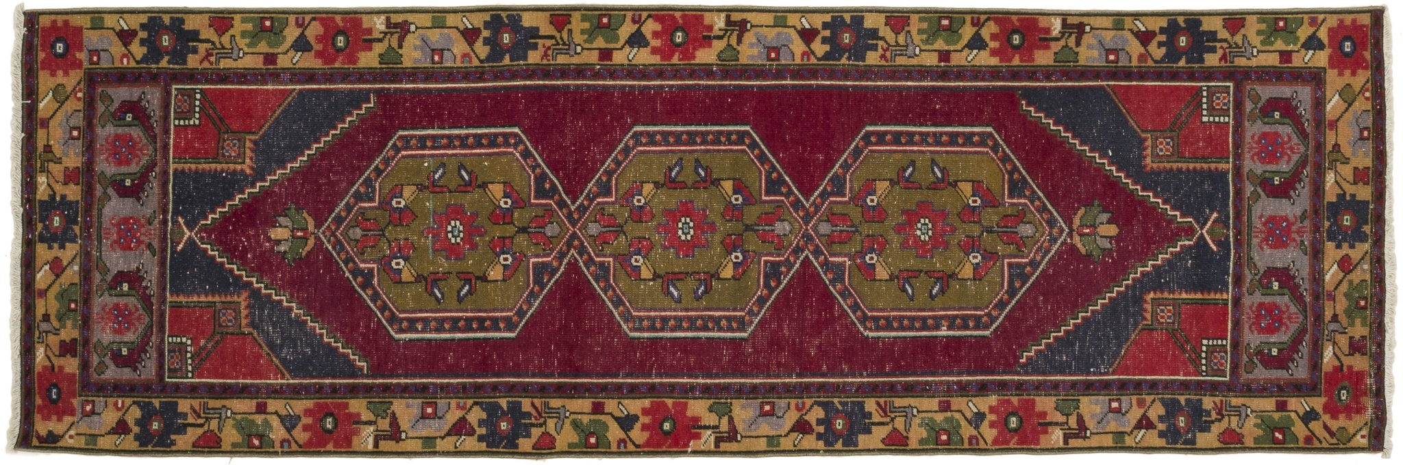 Vintage Turkish Runner Rug ?aneta