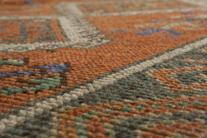 Vintage Turkish Runner Rug Rosolina thumbnail