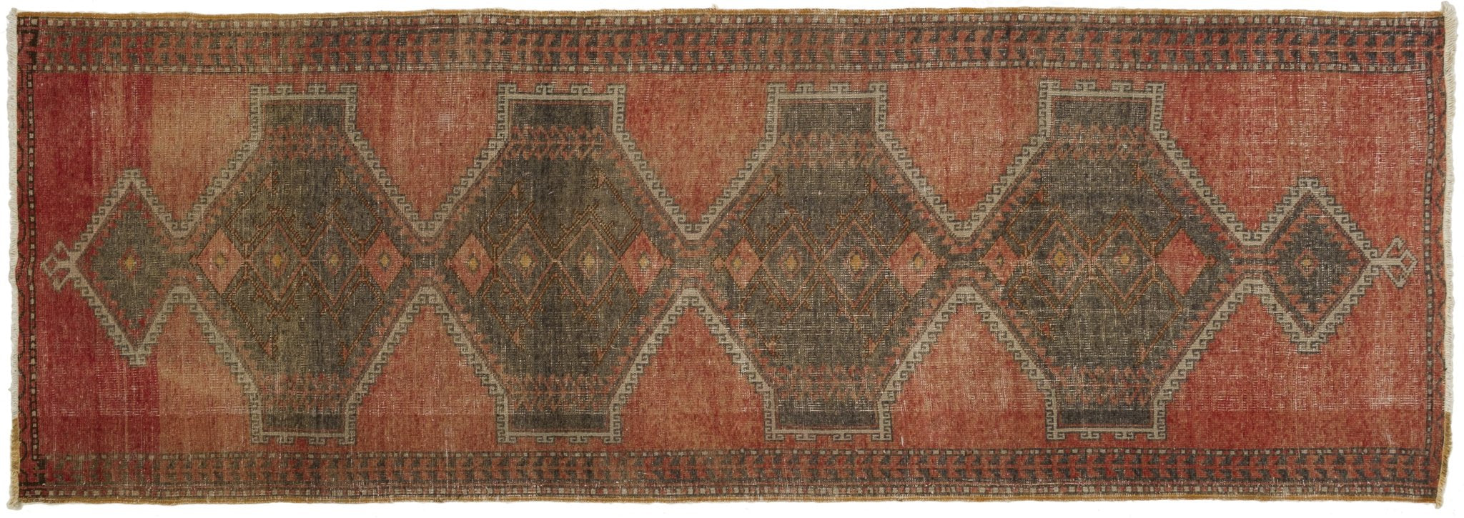 Vintage Turkish Runner Rug Tadeo