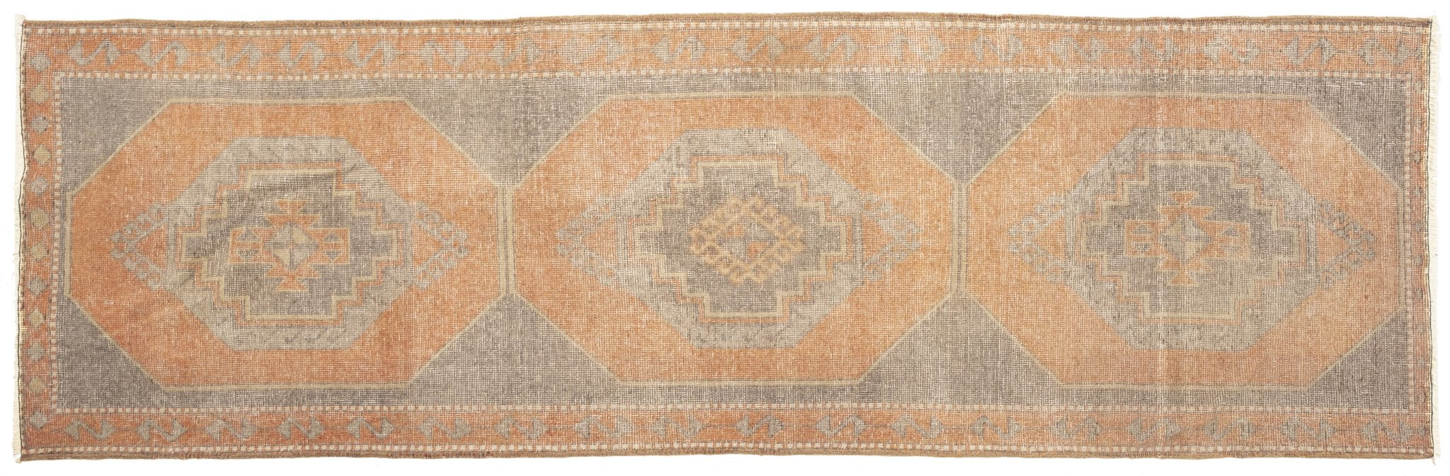 Vintage Turkish Runner Rug Almuth