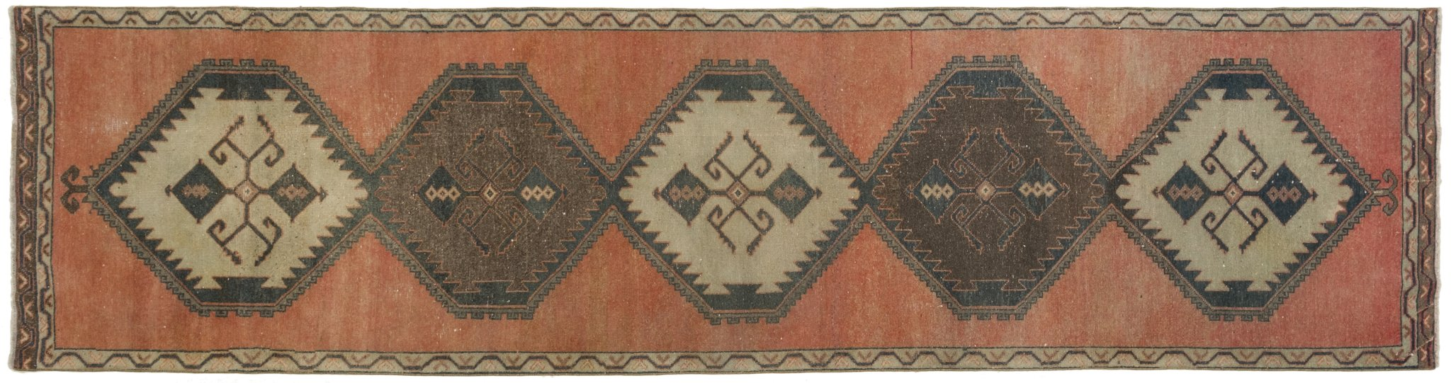 Vintage Turkish Runner Rug Aleksey