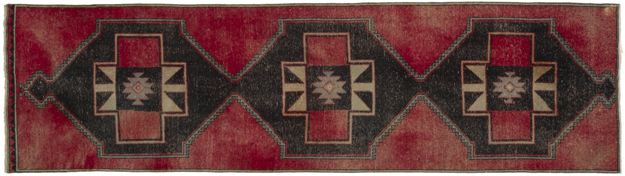 Vintage Turkish Runner Rug Channa