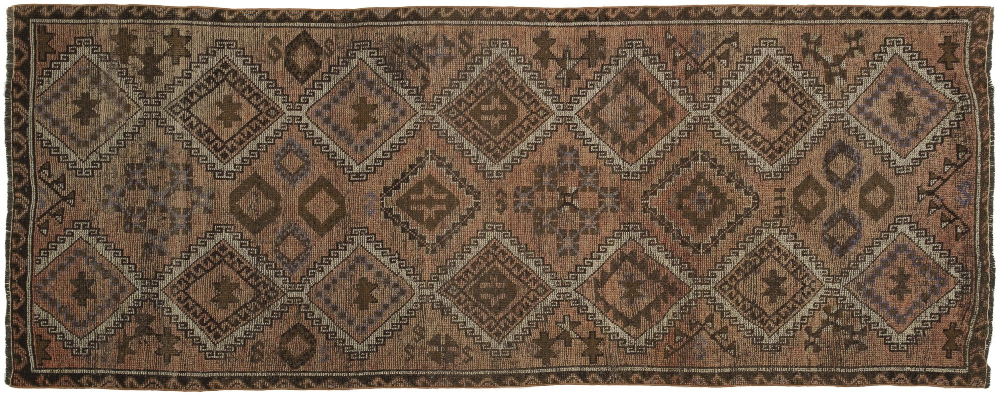 Vintage Turkish Runner Rug Alfaia