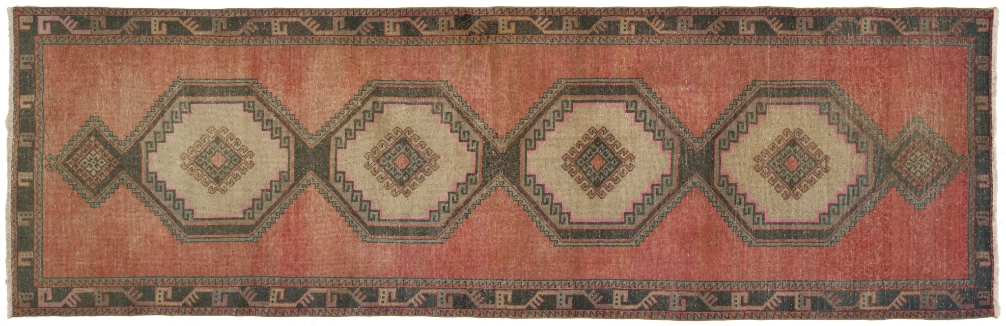 Vintage Turkish Runner Rug Dawid