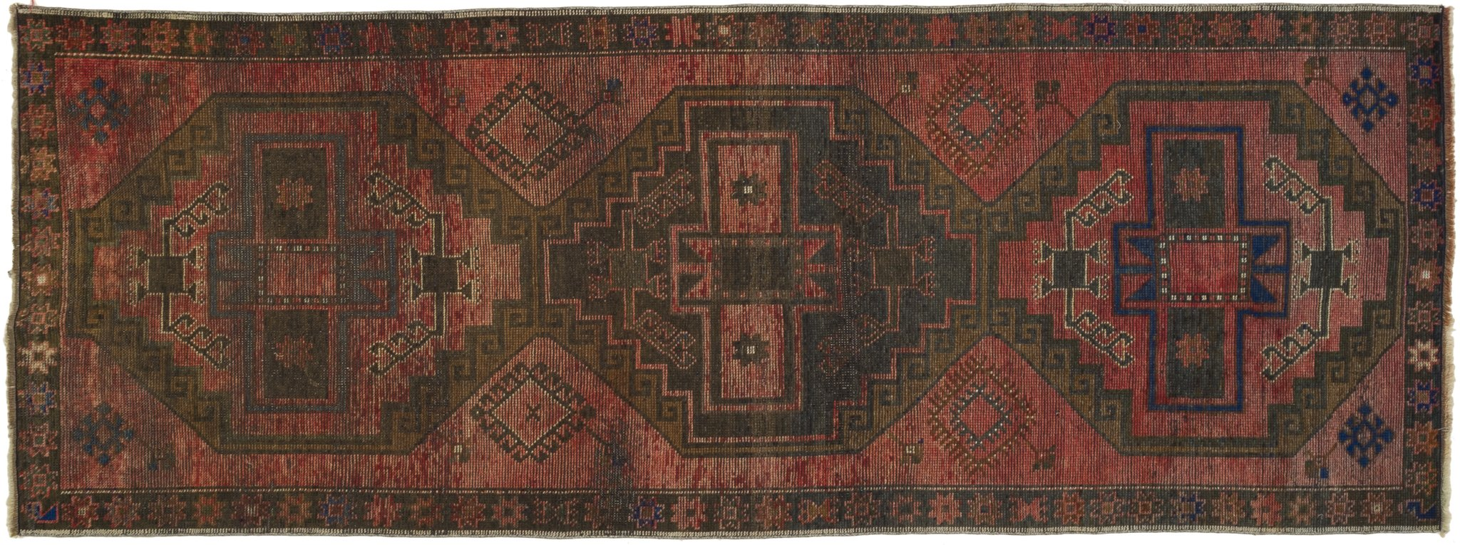 Vintage Turkish Runner Rug Arianwen