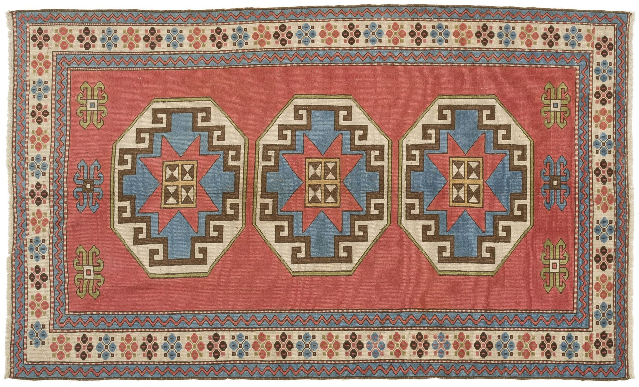 Vintage Turkish Rug Aarno