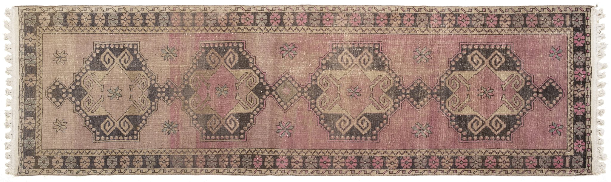 Vintage Turkish Runner Rug Konstantyn