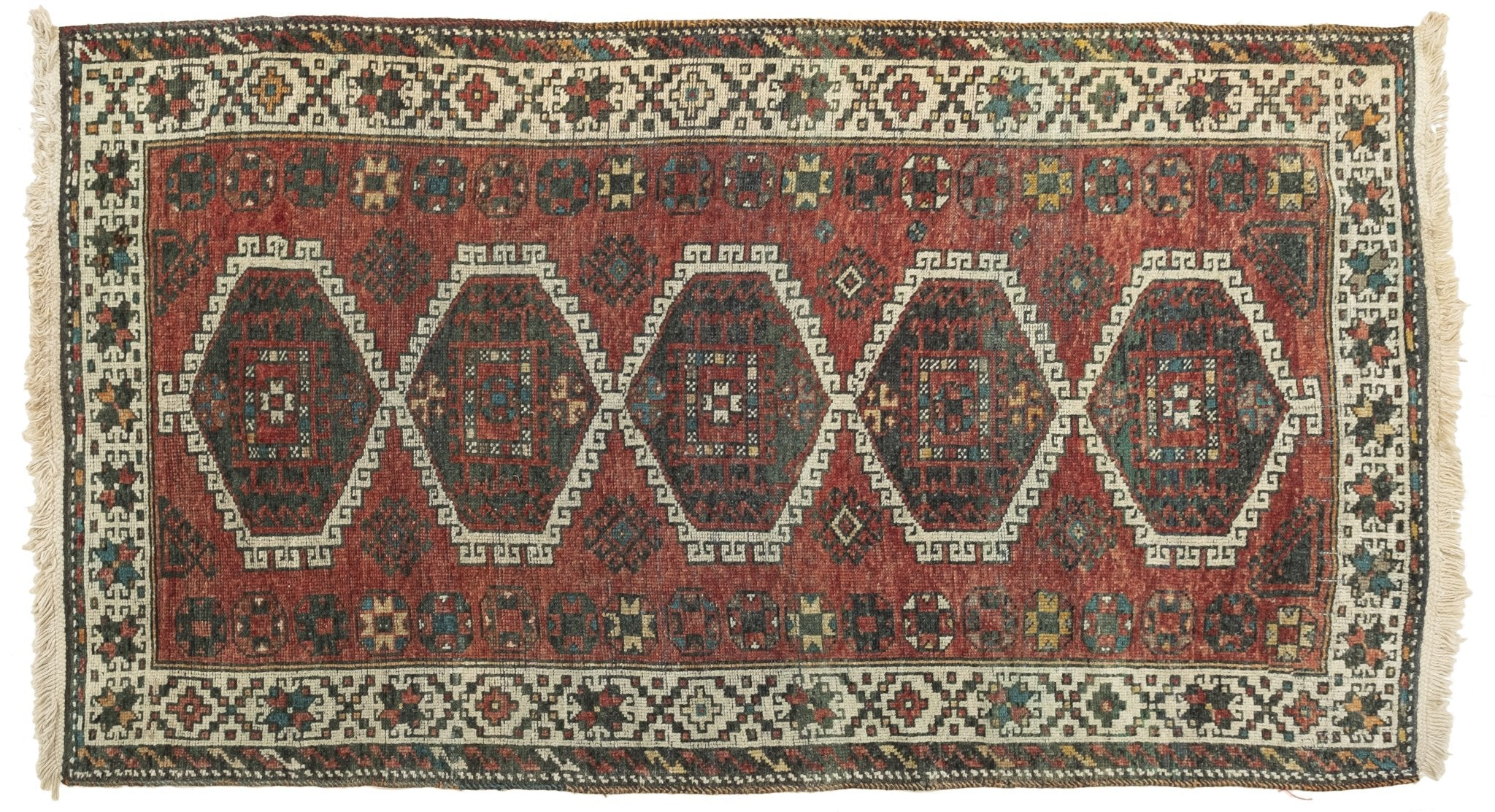 Vintage Turkish Runner Rug Anthoula