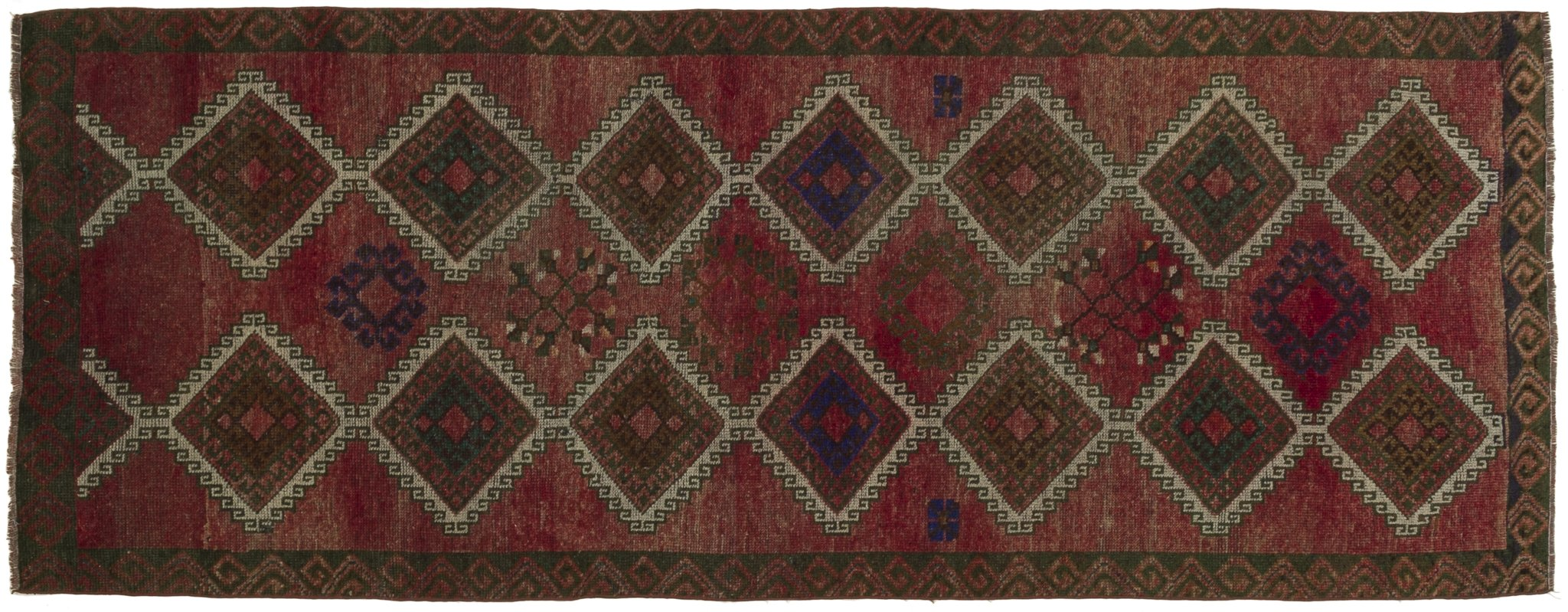Vintage Turkish Runner Rug Settimio