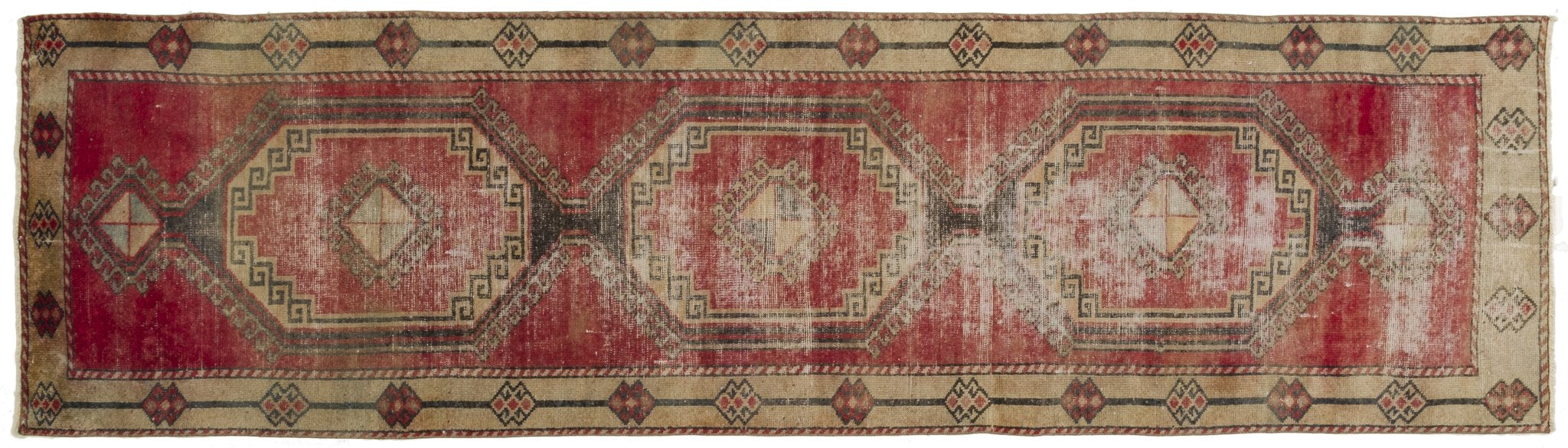 Vintage Turkish Runner Rug Gandolfo