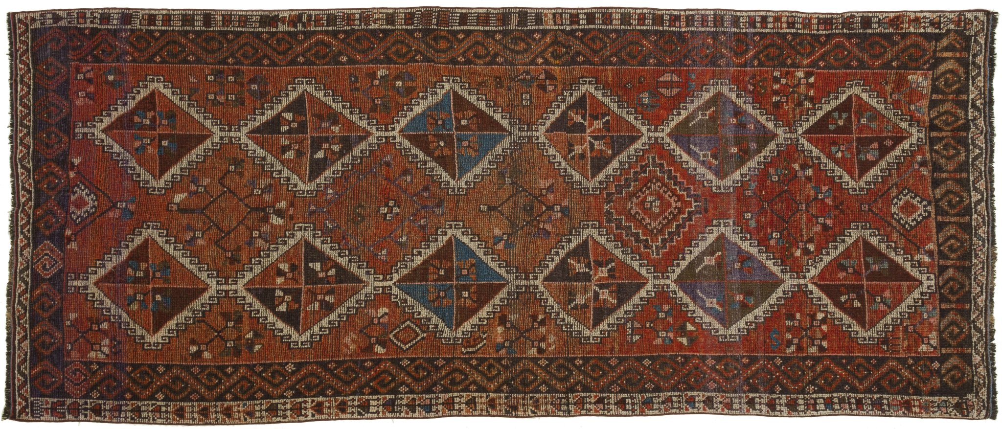 Vintage Turkish Runner Rug Adorata