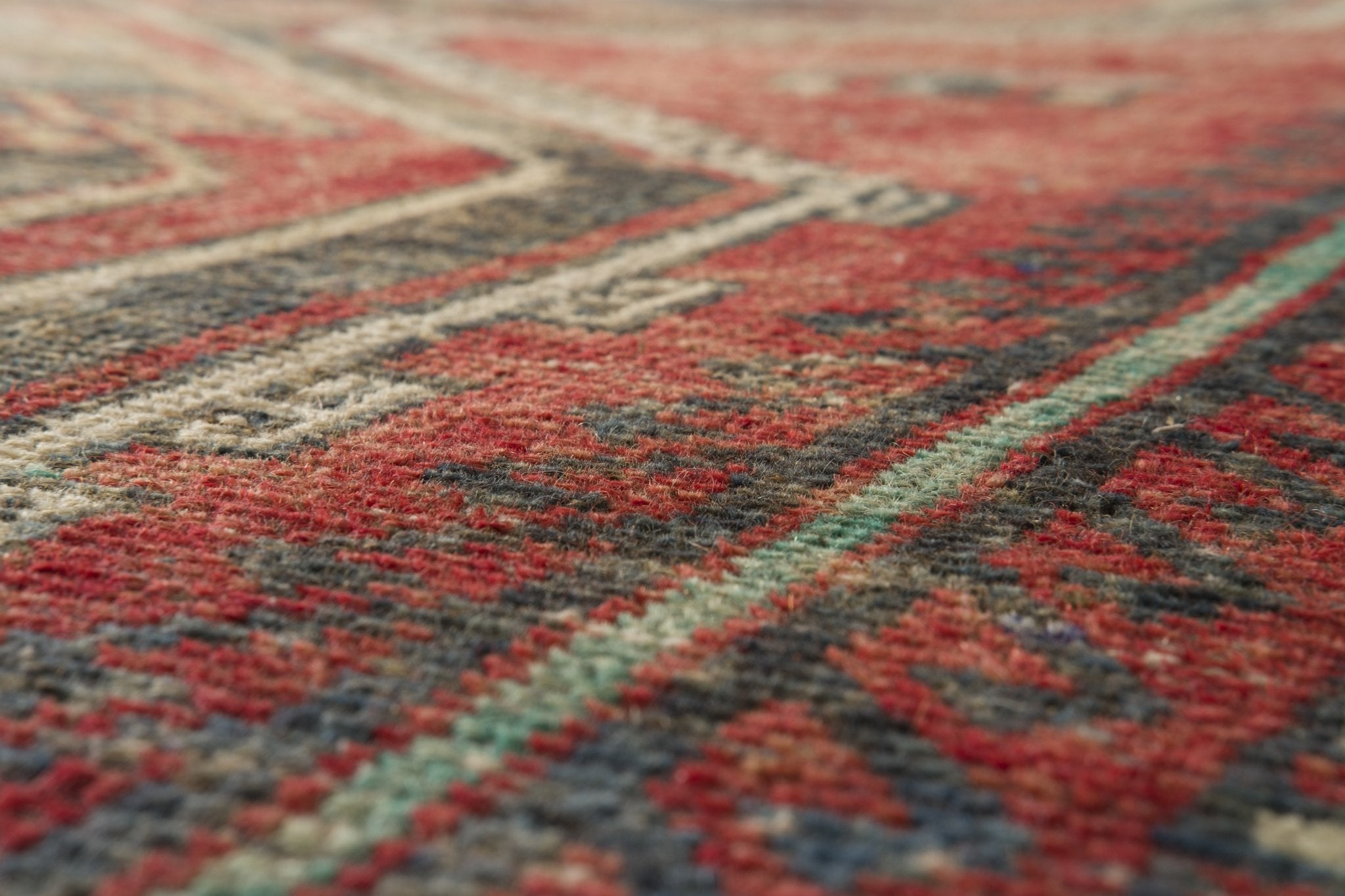 Vintage Turkish Runner Rug Vibekke