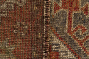 Vintage Turkish Runner Rug Temenuzhka thumbnail