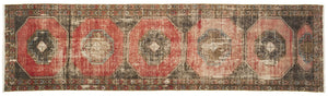 Vintage Turkish Runner Rug Drilon thumbnail