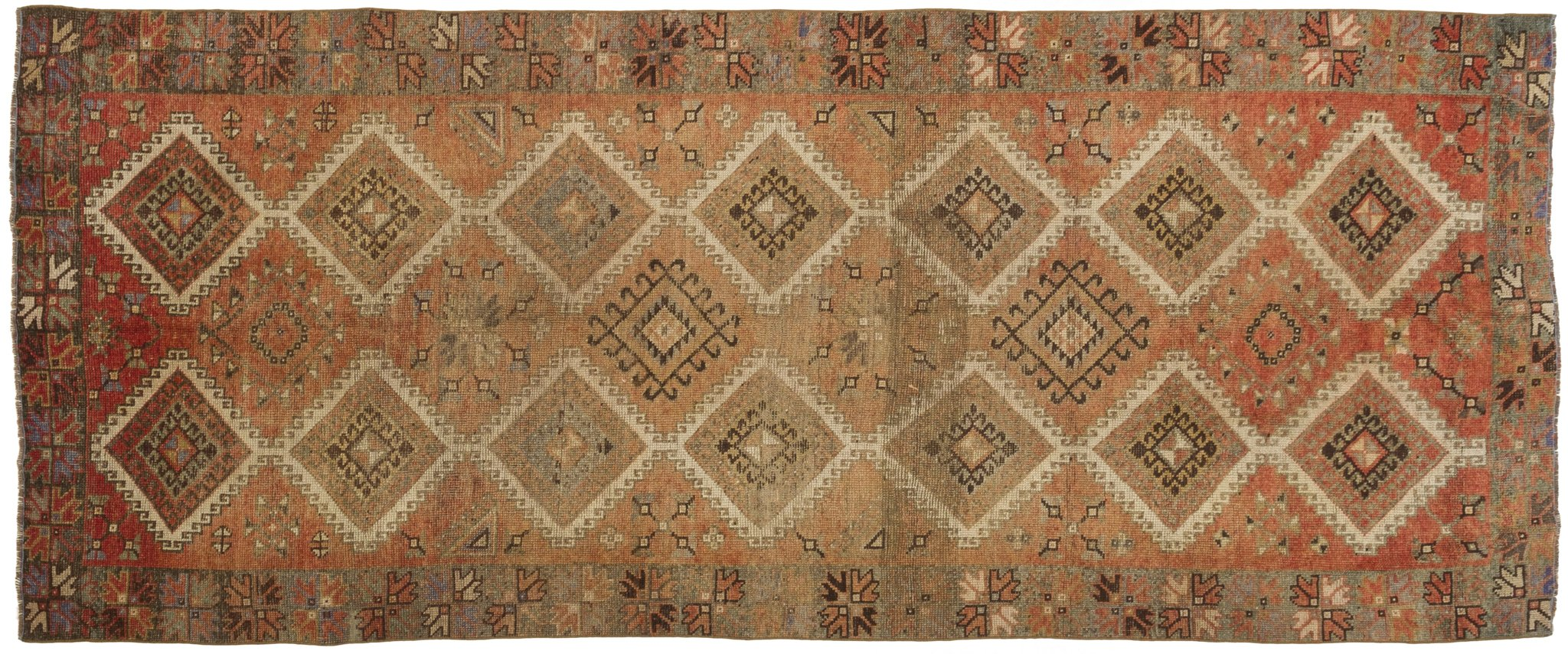 Vintage Turkish Runner Rug Arnfrieda