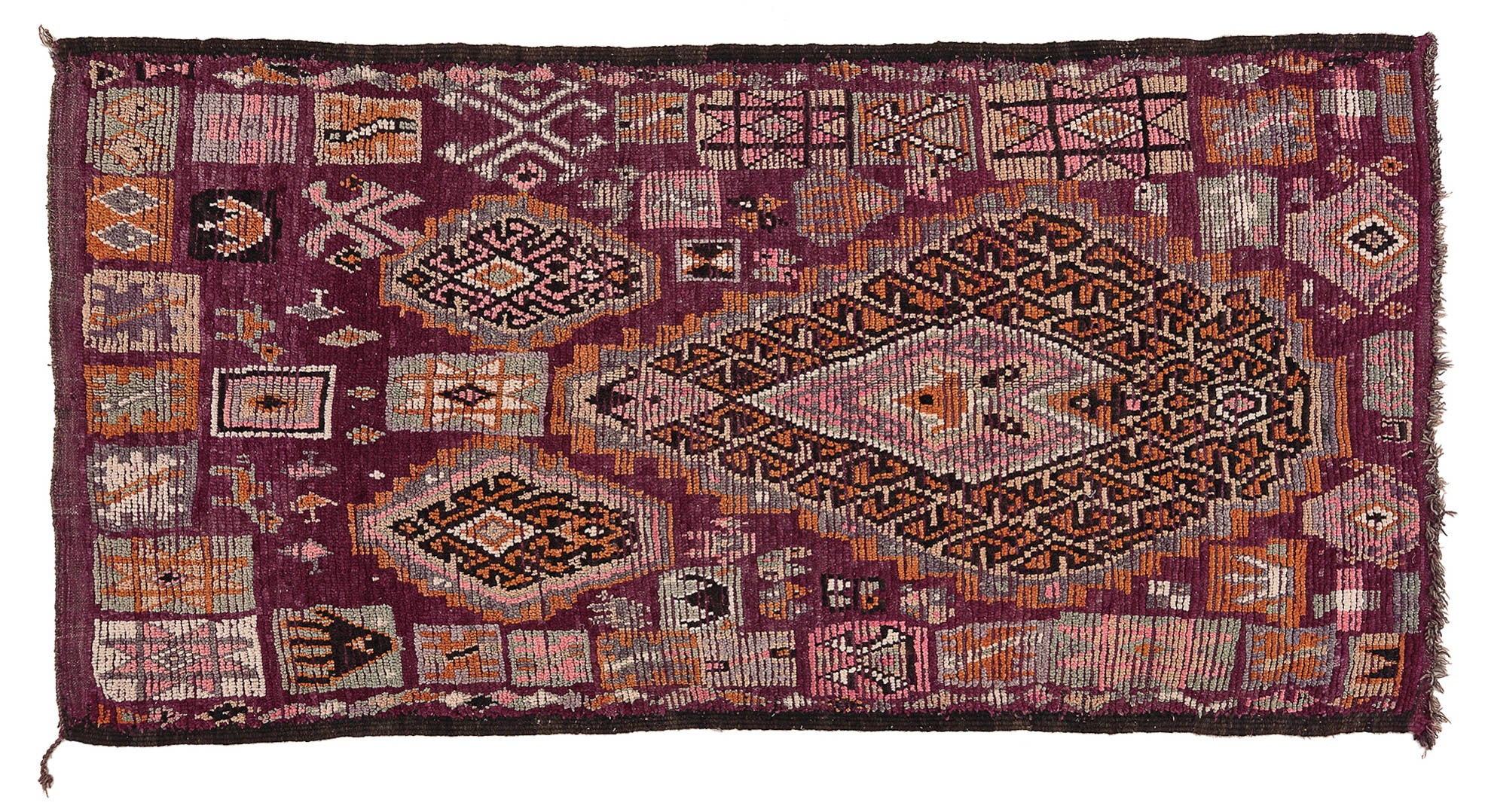 Vintage Moroccan Rug Toulouse