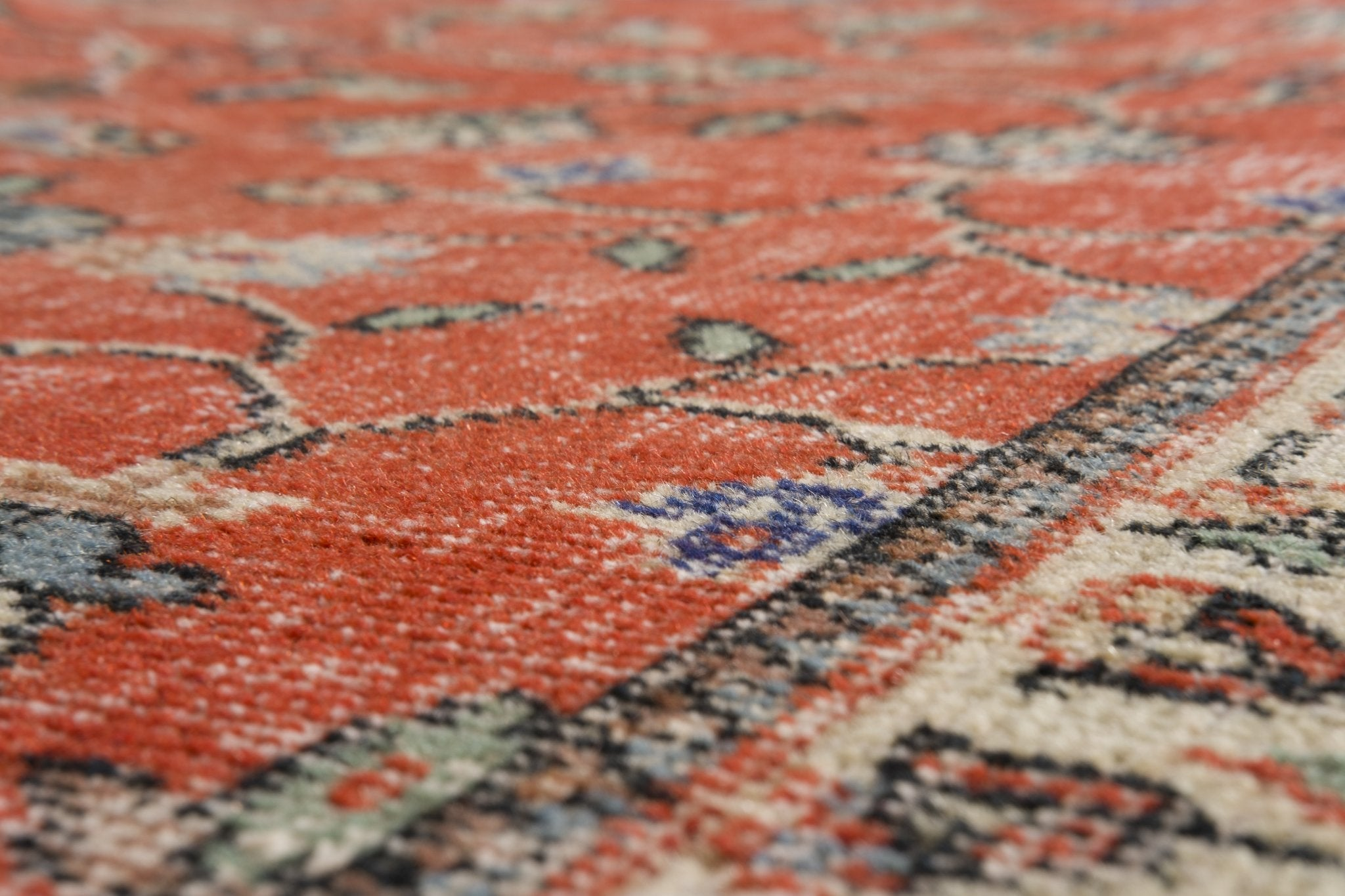 Vintage Turkish Rug Elika