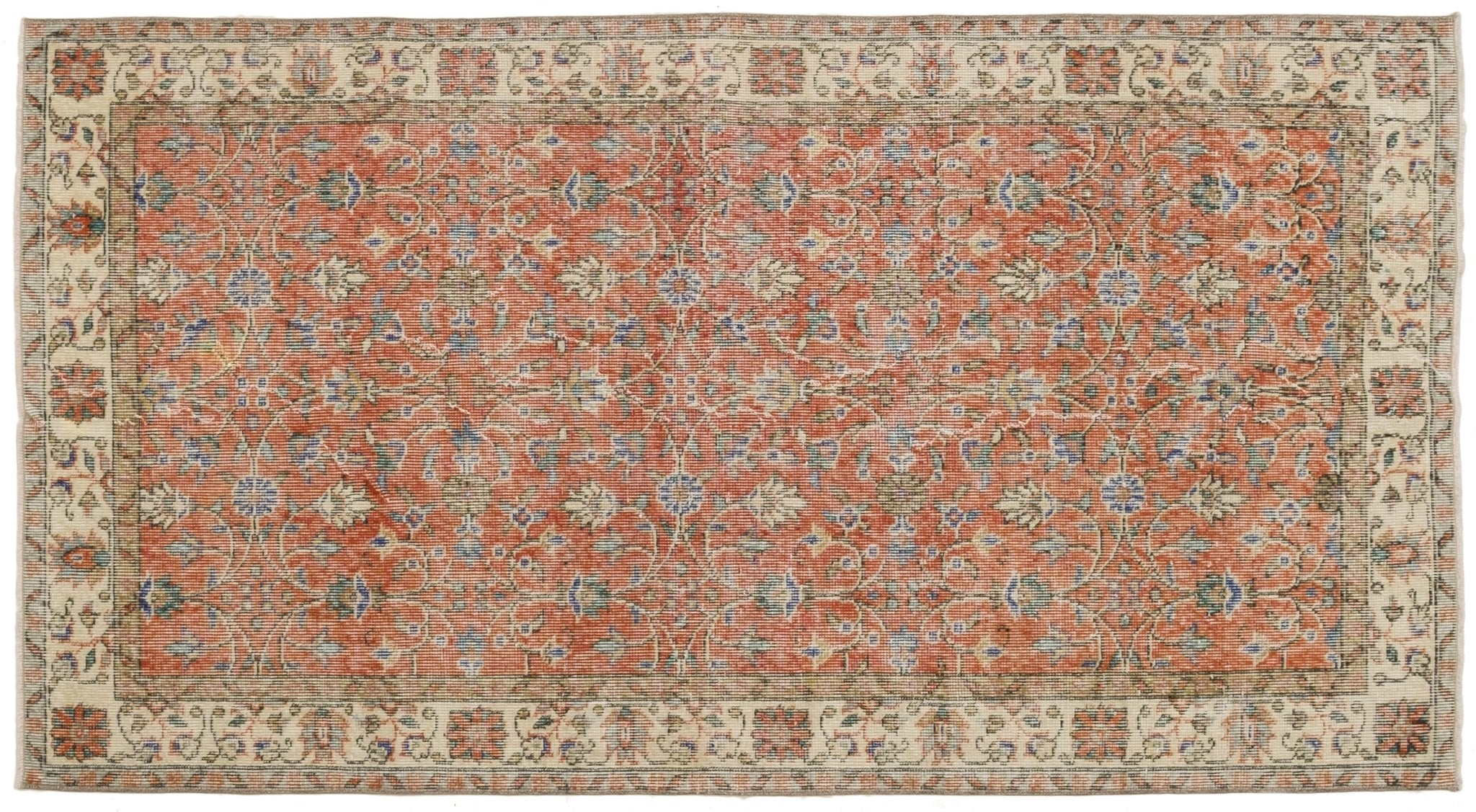 Vintage Turkish Rug Euda
