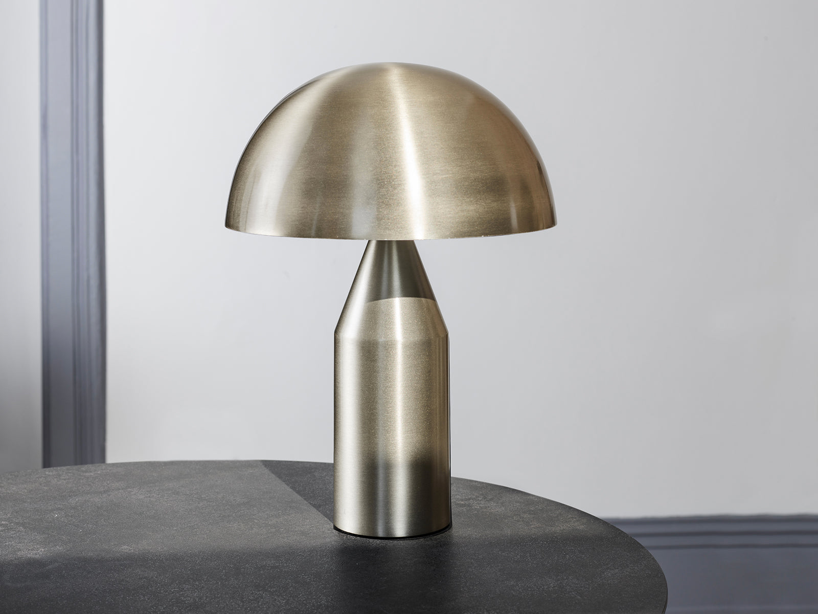 Mantar Lamp in Nickel