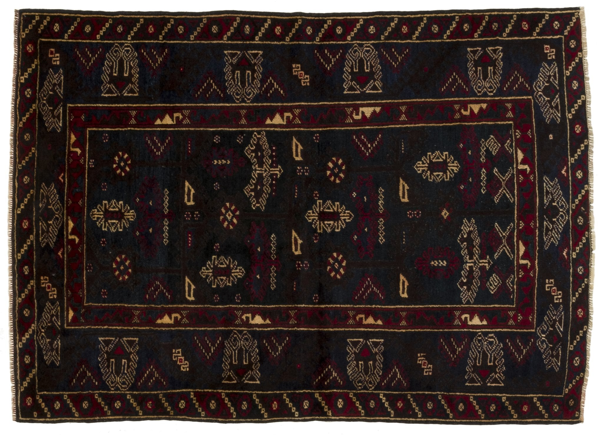 Vintage Turkish Rug Benone