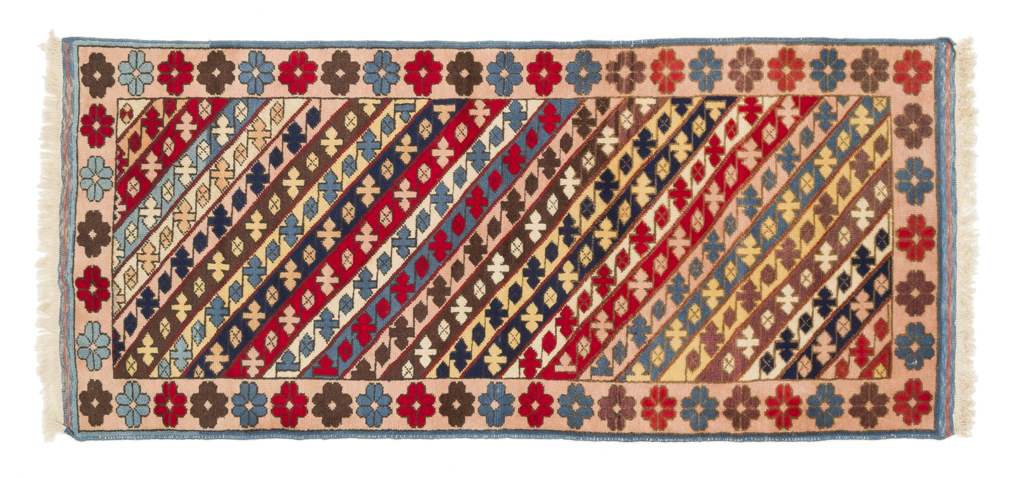 Vintage Turkish Runner Rug Laimontas