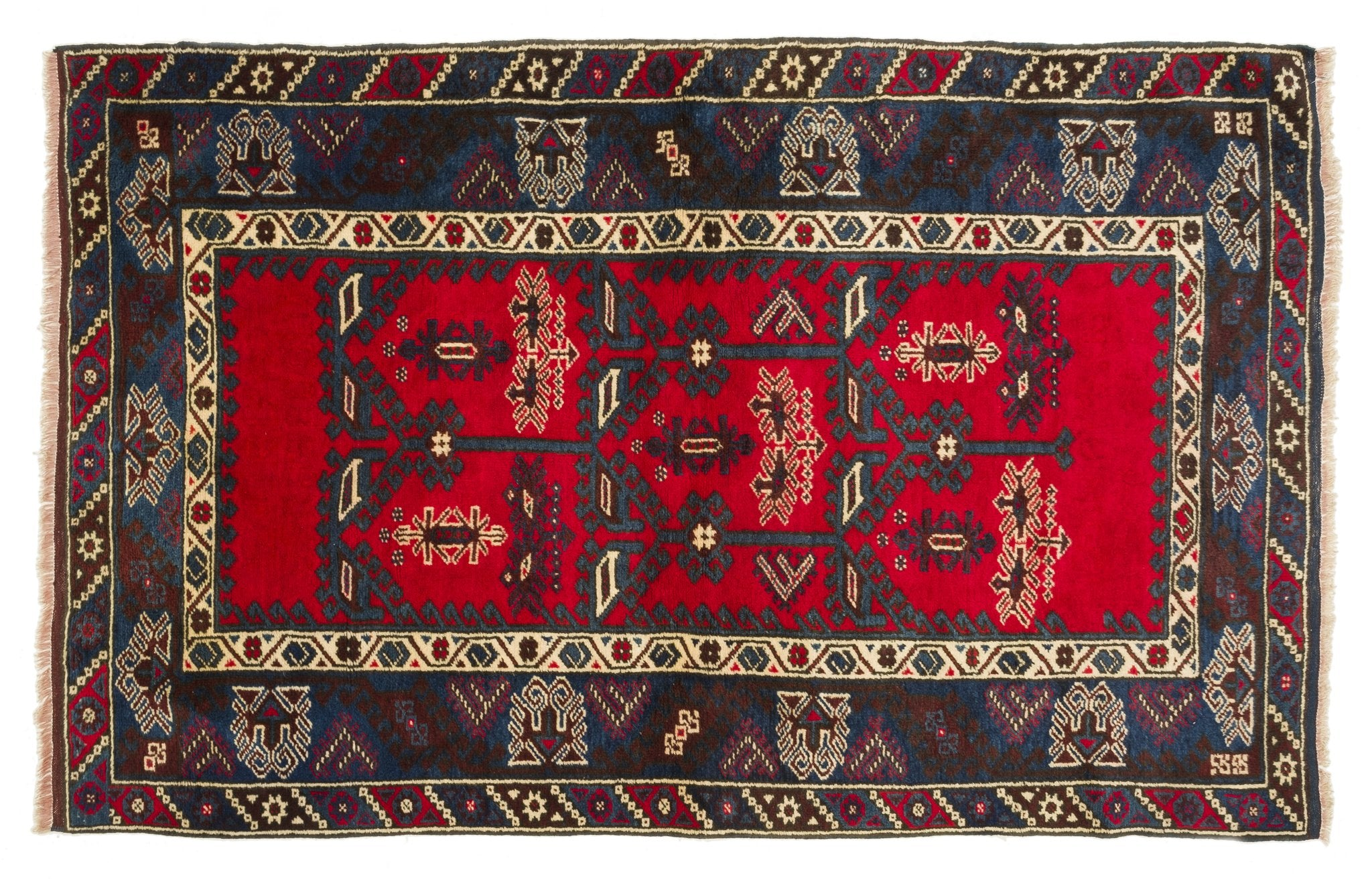 Vintage Turkish Rug Babak