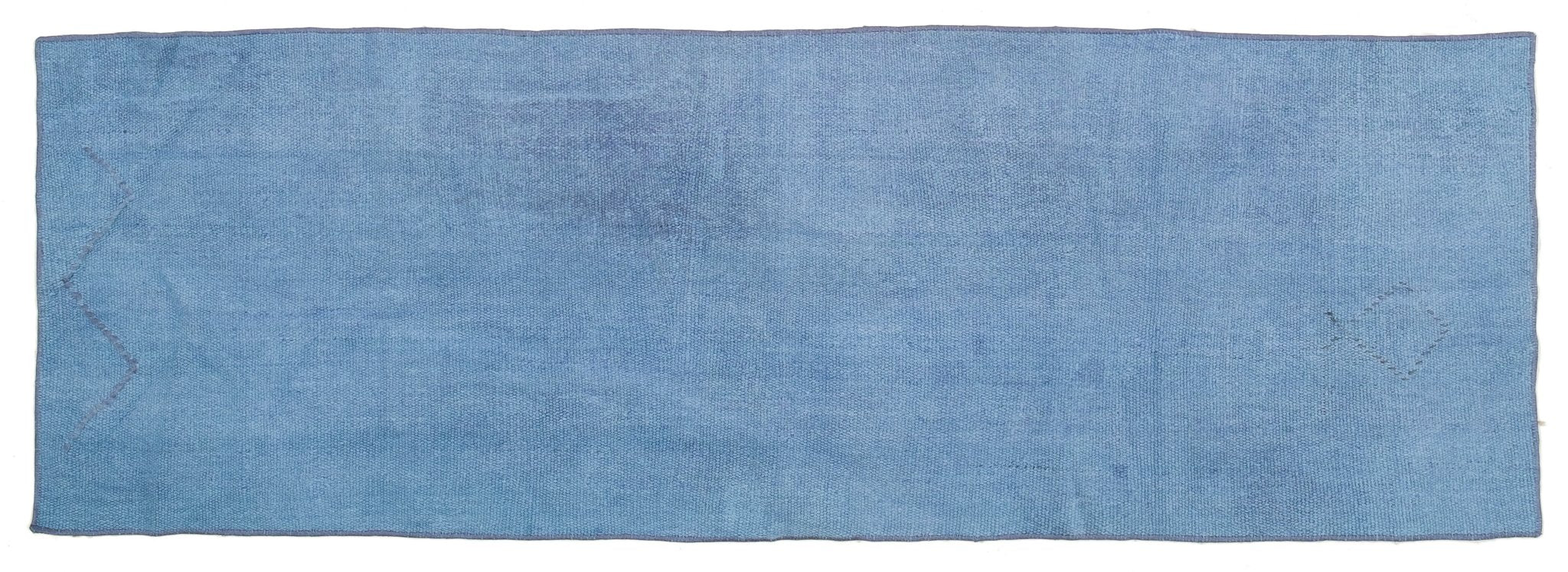Vintage Overdyed Runner Rug Shavarsh