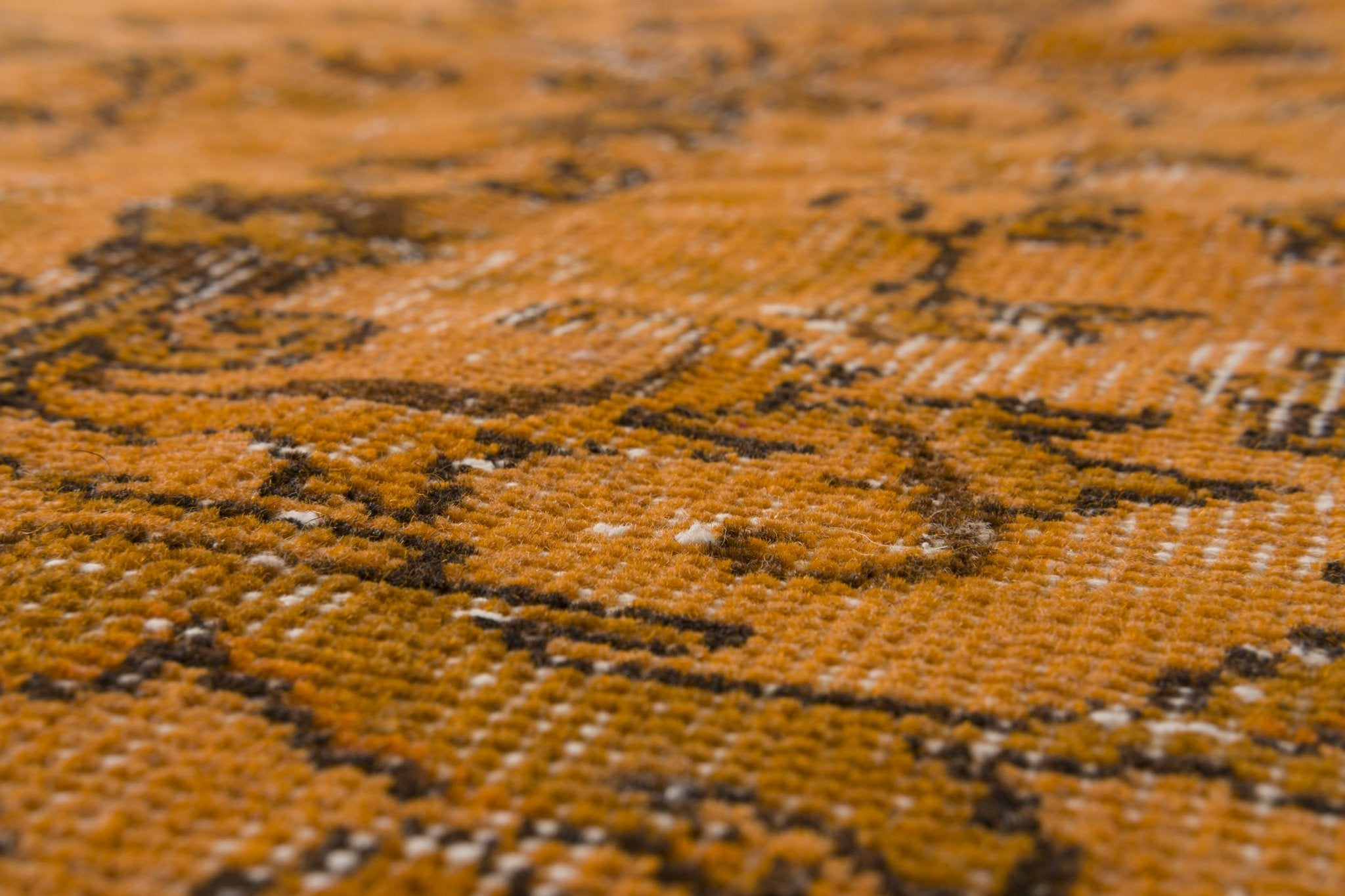 Vintage Overdyed Rug Rosetto
