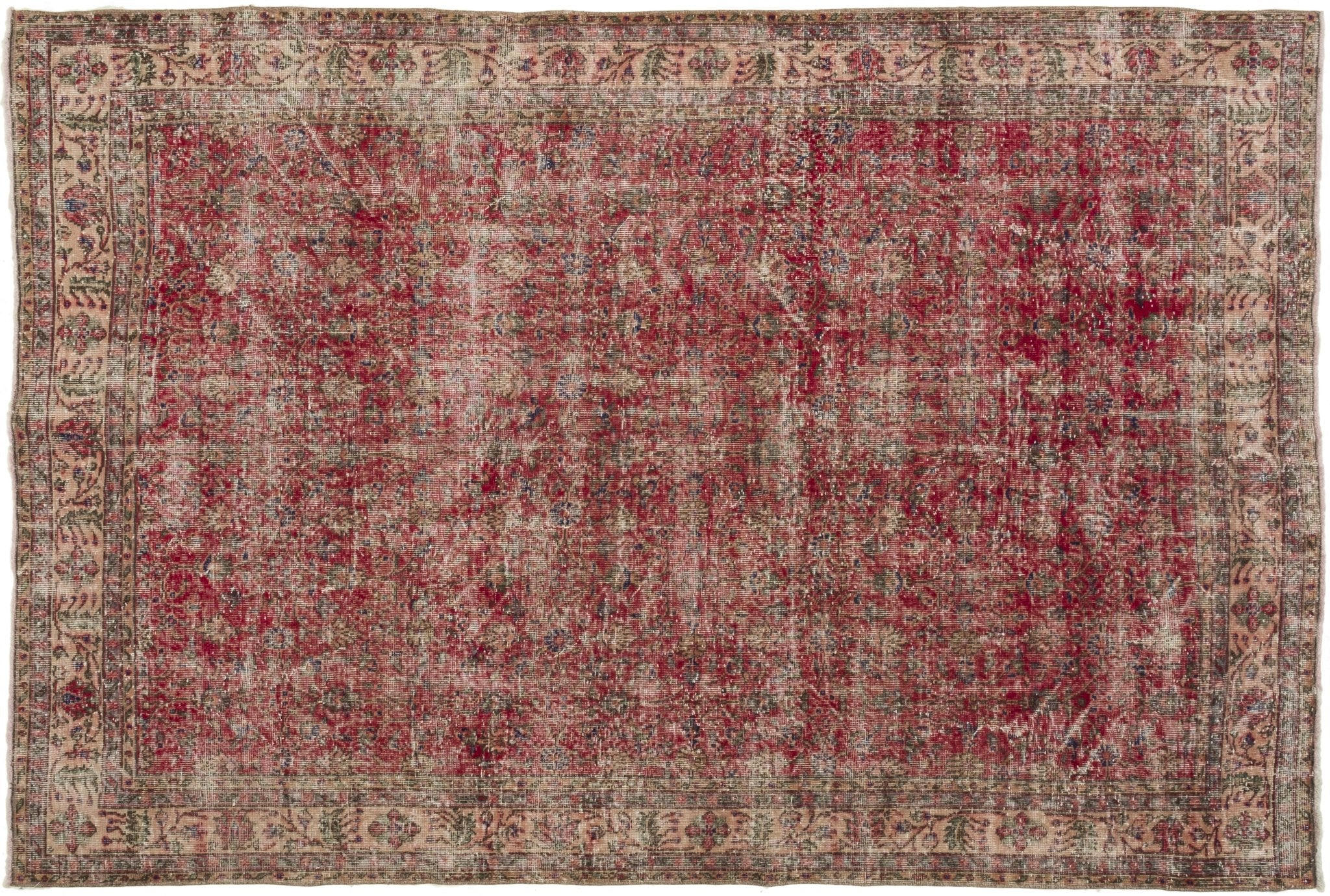Vintage Overdyed Rug Alliette