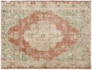 Vintage Persian Style Rug ?tje thumbnail