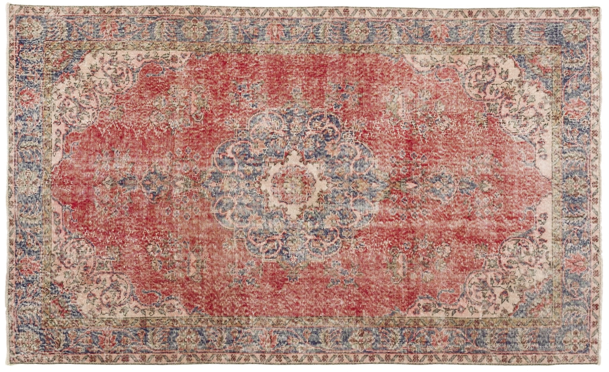 Vintage Persian Style Rug Tersillo