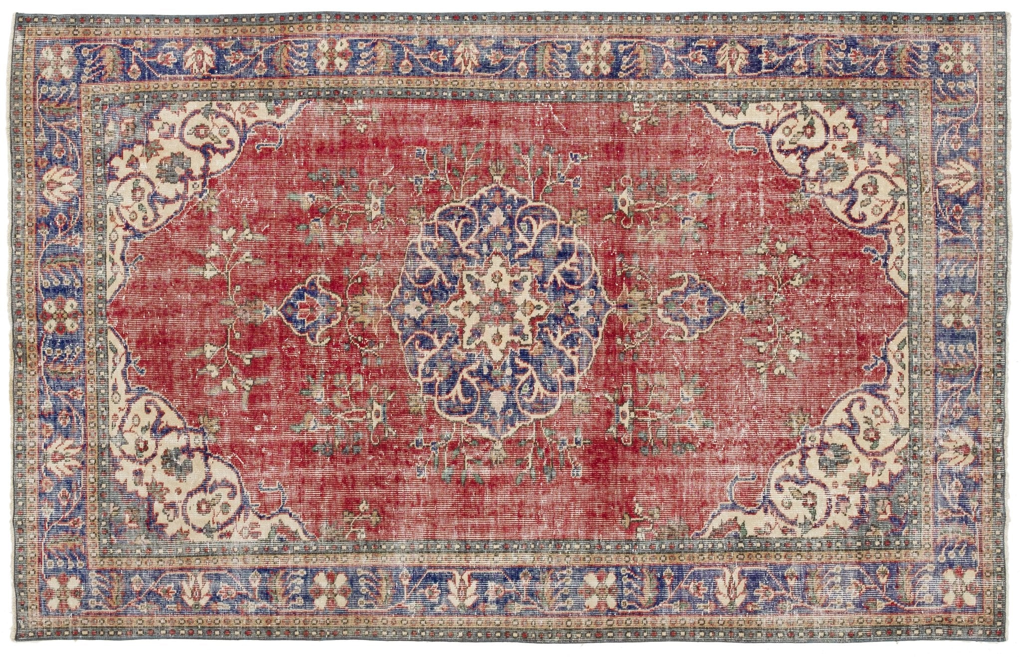 Vintage Persian Style Rug Ernestina
