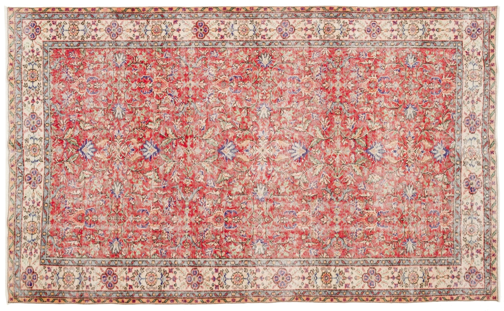 Vintage Turkish Rug Ajrie