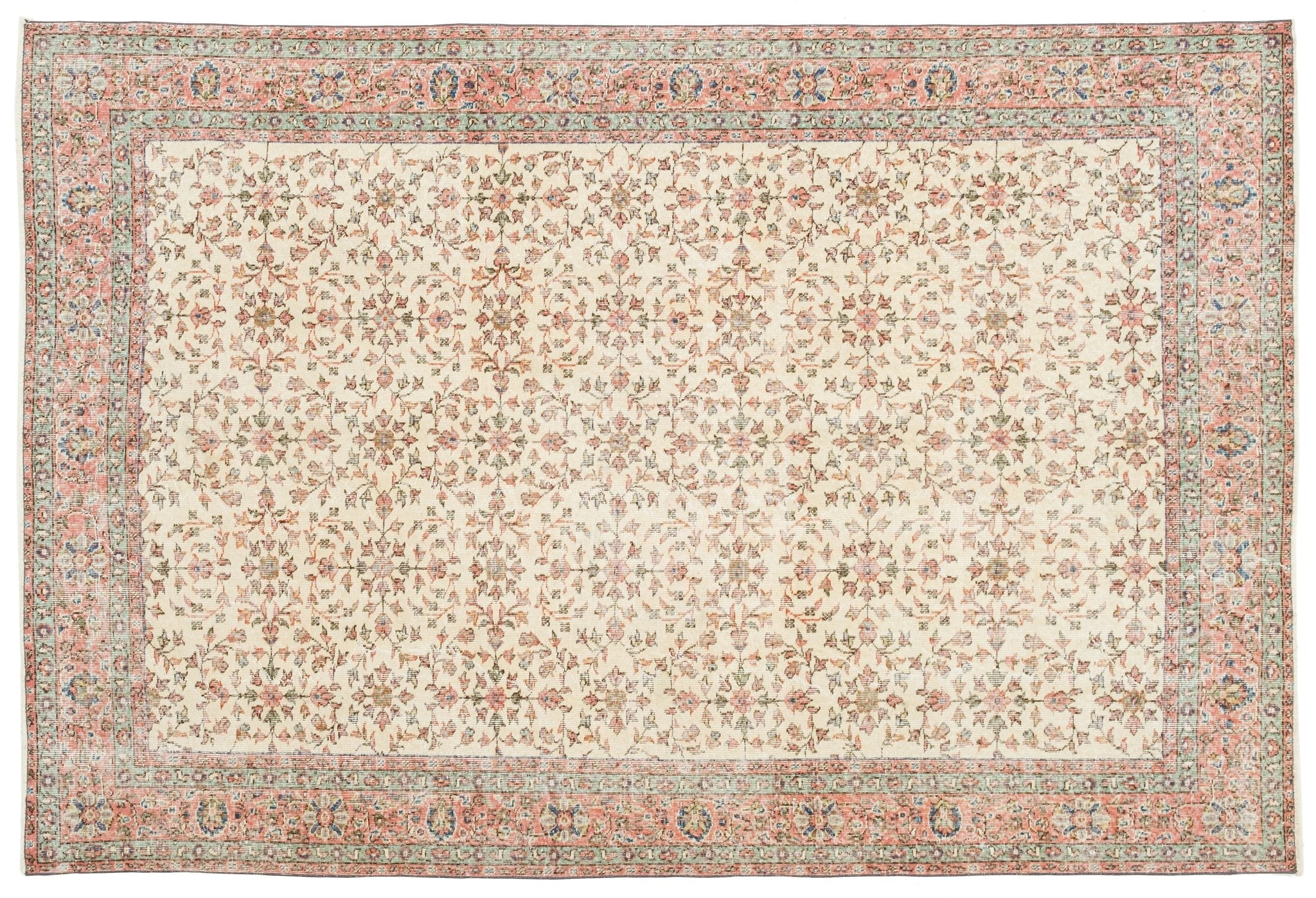 Vintage Persian Style Rug Domna